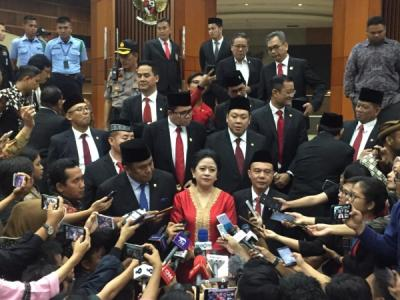 Pimpinan DPR Diundang Jokowi ke Istana, Bahas Apa?