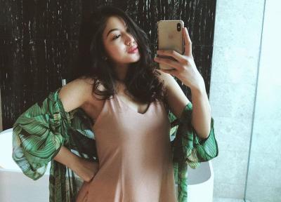 5 Potret Baby Bump Eriska Nakesya, Istri Young Lex yang Lagi Hamil Tua