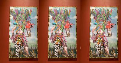 Seniman Asal Padang Sampaikan Pesan Pluralisme Lewat Seni Lukisan