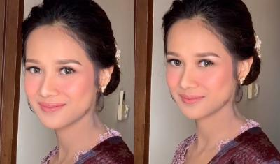 Kecantikan Gista Putri saat Dampingi Wishnutama Pelantikan Bikin Takjub Netizen
