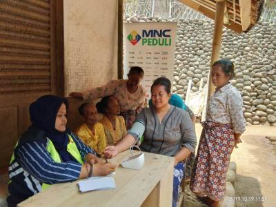 MNC Peduli, PDUI-POC Indonesia Gelar Pengobatan Gratis dan Pemberian Bibit Pohon di Tasikmalaya