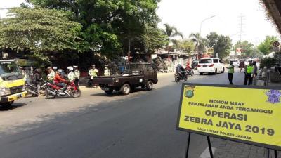 Targetkan Pelanggaran Demi Tekan Kecelakaan, Operasi Zebra Jaya 2019 Mulai Digelar