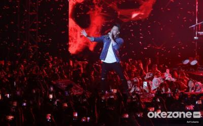 Buka Mega Konser RCTI, Noah Ajak Penonton Nyanyi Wanitaku