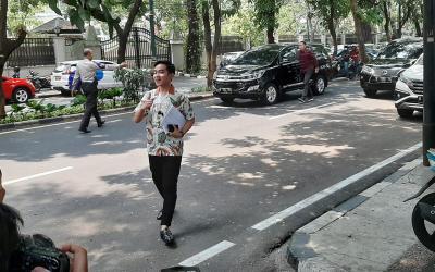 Gibran Rakabuming Sambangi Kediaman Megawati
