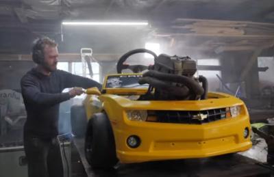 Begini Jadinya Jika Mobil Mainan Anak Kecil Dipasangkan Mesin 500 CC
