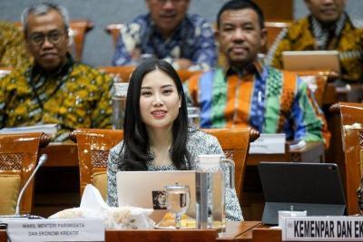 Rapat Perdana dengan DPR, Angela Tanoesoedibjo Paparkan Strategi Ekosistem Sustainable Tourism