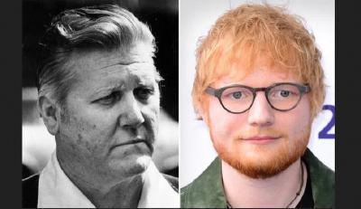 Ed Sheeran hingga Angelina Jolie, 7 Artis Hollywood Ini Sepupunya Tokoh Penting Dunia