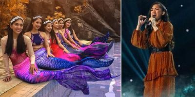 Pesona Mirabeth Sonia Kontestan Indonesian Idol 2019 saat Jadi Putri Duyung