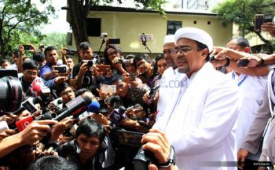 PA 212: Habib Rizieq Dicekal Pulang ke Indonesia karena Alasan Keamanan