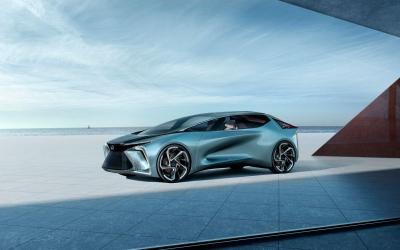 Lexus Siap Rilis Mobil Listrik Perdana untuk Pasar Tiongkok