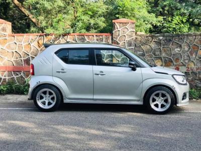 Intip Gubahan Tema Lowrider pada Suzuki Ignis