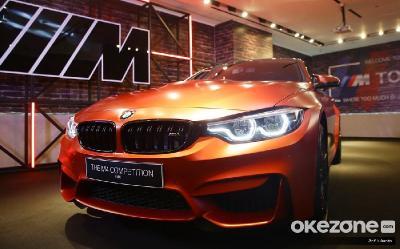 Banderolnya Rp2,3 Miliar, Unit BMW M4 Competition untuk Pasar Tanah Air Ludes Terjual