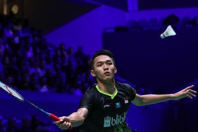 Jonatan Akui Kurang Fokus di Babak Pertama Hong Kong Open 2019