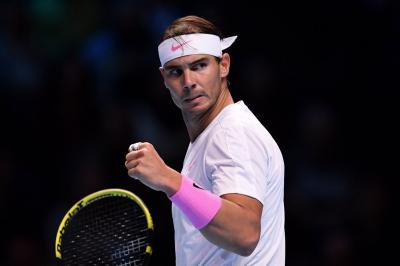 Nyaris Tumbang dari Medvedev, Nadal Bikin Epic Comeback di ATP Finals 2019