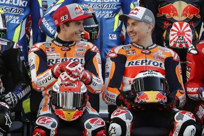 Marquez Terkejut Lorenzo Pensiun dari MotoGP