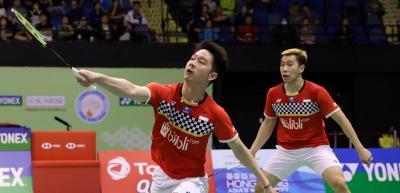 Tersingkir dari Hong Kong Open 2019, Marcus Kevin: Kami Kurang Beruntung