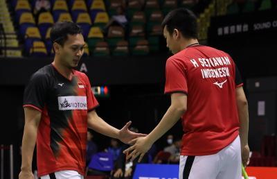 Ahsan Hendra Ungkap Kunci Sukses Tembus Semifinal Hong Kong Open 2019