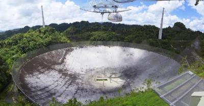 Mengintip Radio Telescope Raksasa dalam Tampilan VR 180