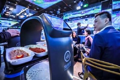 Restoran Hotpot Pintar Pertama di Dunia, Pelanggan Dimanjakan Robot Canggih
