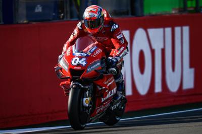Perasaan Campur Aduk Dovizioso Jalani Hari Pertama MotoGP Valencia 2019