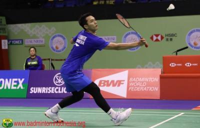 Segel 1 Tempat di Semifinal Hong Kong Open 2019, Ini Komentar Jonatan