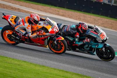 Marquez Akui Kecepatan Quartararo di Sesi Kualifikasi MotoGP Valencia 2019