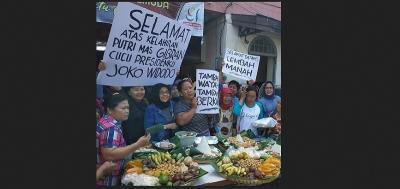 Kelahiran Cucu Ketiga Jokowi, Pedagang Pasar Gede Solo Gelar Syukuran