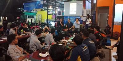 Komunitas SSFC Kampanyekan Bahaya Microsleeping yang Kerap Hantui Bikers