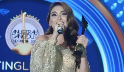 Sabet 4 Piala di Anugerah Dangdut Indonesia, Ayu Ting Ting Tak Henti Ucap Syukur