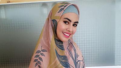 Kartika Putri Tunjukkan Wajah sang Putri, Hidungnya Bikin Salah Fokus