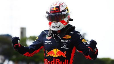 Naik Podium Pertama F1 GP Brasil, Verstappen: Ini Kemenangan Besar!