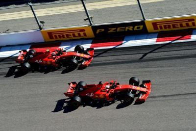 Bos Ferrari Syukuri Insiden Vettel-Leclerc di F1 GP Brasil 2019