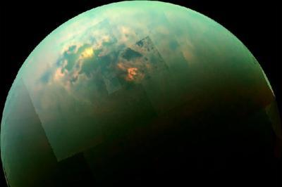 Astronom Ciptakan Peta Bulan Terbesar Milik Saturnus 'Titan'