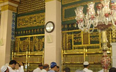 Ini Rahasia Makam Umar bin Khattab dan Rasulullah Berdampingan
