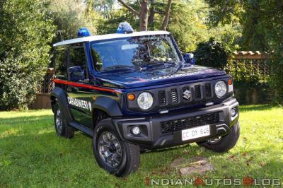 Intip Suzuki Jimny yang Jadi Mobil Patroli Polisi