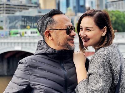 Liburan ke Australia, Mona Ratuliu dan Indra Brasco Masih Kayak ABG Lagi Pacaran
