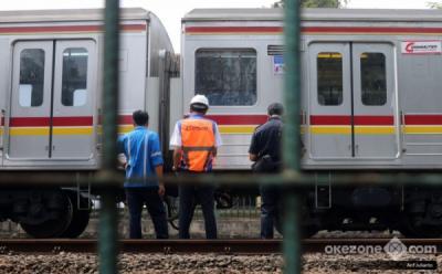 Ada Perbaikan Rel Antara Stasiun Pasar Minggu-Tanjung Barat, Perjalanan KRL Terganggu