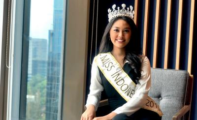 Hari Pertama Karantina Miss World 2019, Princess Megonondo Banjir Semangat dari Netizen