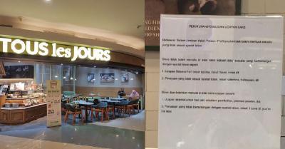 Viral Dilarang Tulis Ucapan Natal di Cake Tous les Jours, Begini Klarifikasi Manajemen