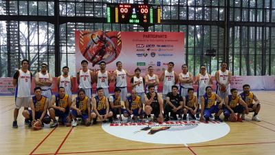 MNC Media dan RCTI Berebut Juara Grup Sinar Mas Land Basketball Tournament 2019