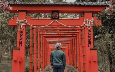 Viral Tempat Wisata di Jawa Salah Tulis Bahasa Jepang, Kerjaan Siapa Sih?
