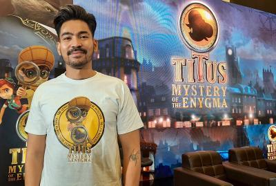 Robby Purba Bangga Perankan Karakter Mahal dalam Titus Mystery of the Enygma