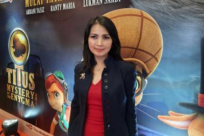 Titus Mystery of The Enygma Segera Tayang di Bioskop,  Liliana Tanoesoedibjo: Inspirasi Anak Indonesia