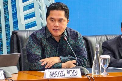 Erick Thohir Gebuk Garuda Trending di Twitter, Netizen: Ditunggu BUMN yang Lain