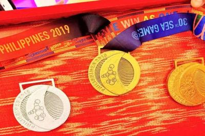 Klasemen Perolehan Medali SEA Games 2019, Senin 9 Desember Pukul 13.00
