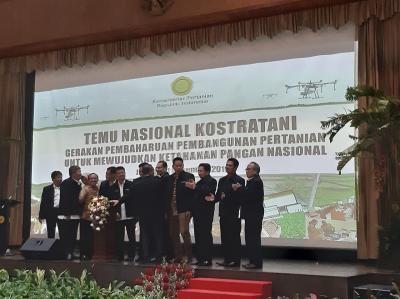 Temu Nasional Kostratani, Wujudkan Ketahanan Pangan Nasional