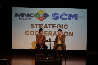 Kerjasama Produksi, MNCN dan SCMA Perkuat Konten Lokal