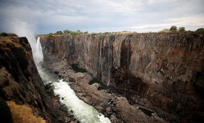 Air Terjun Victoria Mengering Akibat Perubahan Iklim