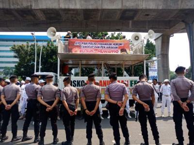 200 Polisi Kawal Demo PA 212 Minta Sukmawati Ditangkap