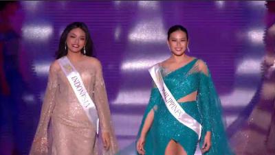 Masuk Top 40 Miss World 2019, Princess Megonondo Tampil Menawan dan Elegan